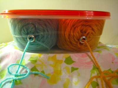 Yarn Holder DIY