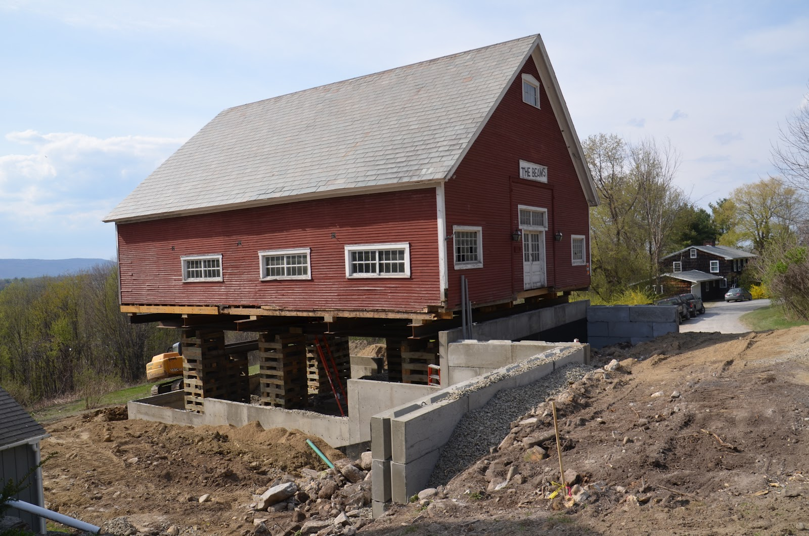 Middlebury Barn Renovation Retaining Walls And Backfill