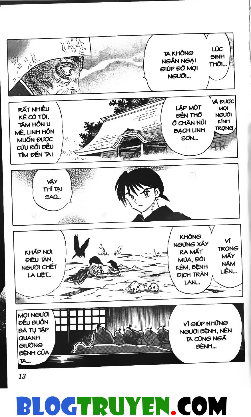Inuyasha vol 28.1 trang 11