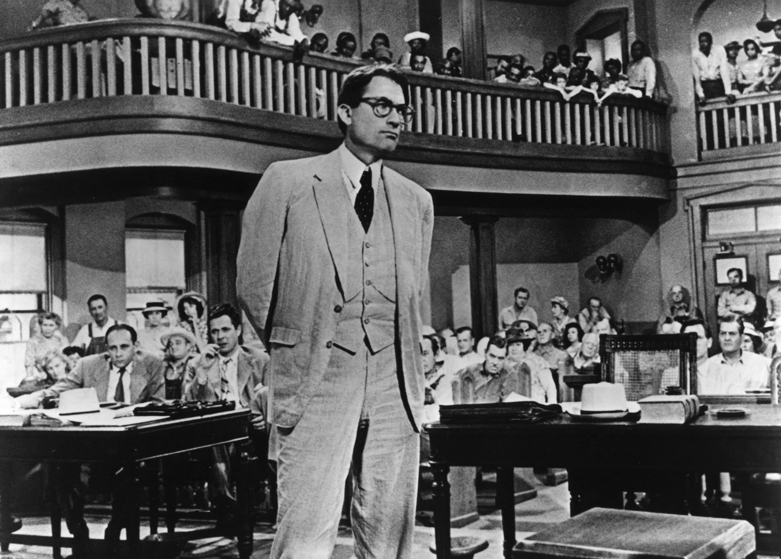 To kill a mockingbird atticus in court - photo#45