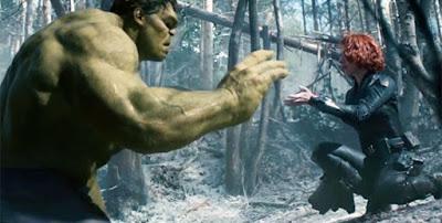 Hulk e Viúva Negra vingadores