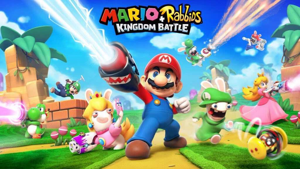 Mario + Rabbids: Kingdom Battle é anunciado na E3 2017