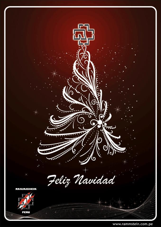 Feliz Navidad Siempre Asi.Rammstein Peru Rammstein Peru Les Desea Una Feliz Navidad