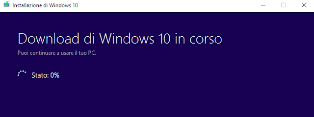 Come installare aggiornamento Windows 10 con Media Creation Tool