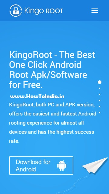 Download Kingoroot App apk