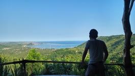 view Lombok dari Astari Resto