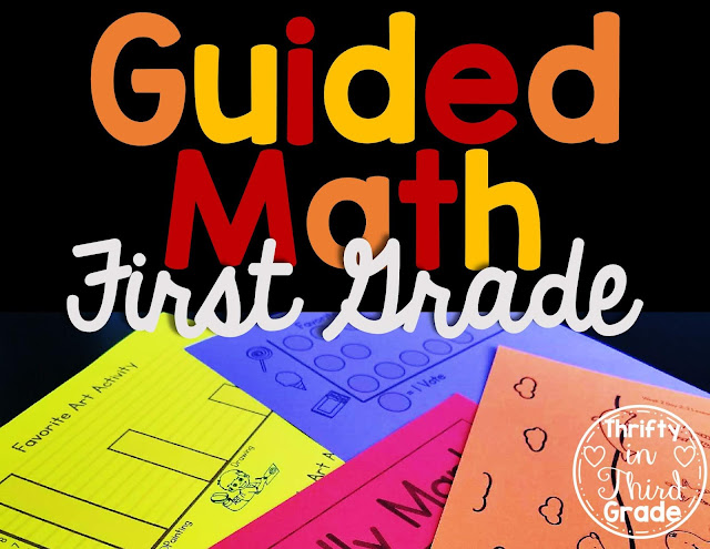 https://www.teacherspayteachers.com/Product/1st-Grade-Guided-Math-The-Bundle-3824962?utm_source=TITGBlog&utm_campaign=5Reasons1stGradeLink