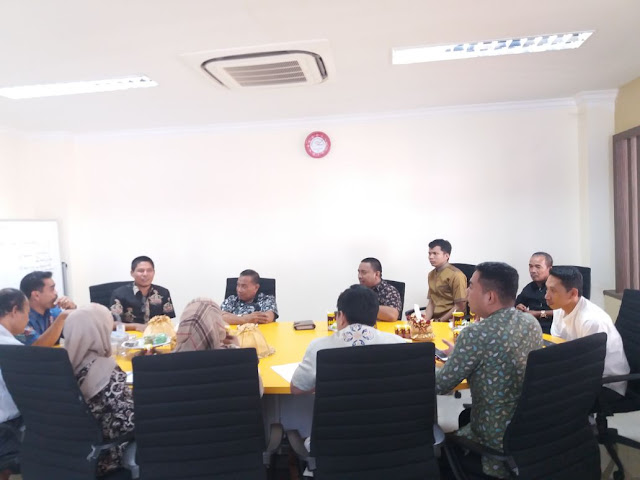 Ini Tujuan Komisi II DPRD Berkunjung ke Dinas Perindustrian Propinsi