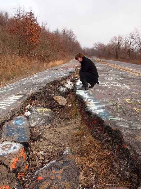 Otis Odd Things I Ve Seen A Ghost Town On Fire Return To Centralia Pa
