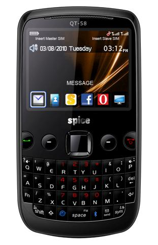 True Price: Spice Blueberry Mini QT-58 Mobile Price