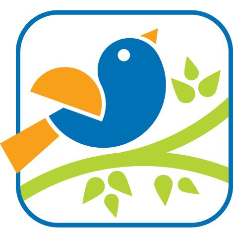 Pájaro tipo logo - vectoc