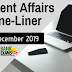 Current Affairs One-Liner: 4th December 2019