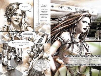 """Resenha: """"Crepusculo - Graphic Novel volume 1"""" (Young Kim) 15"""