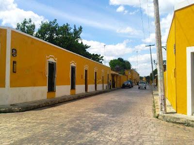 Casas Izamal Yucatan Mexico