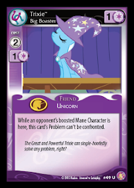 My Little Pony Trixie, Big Broaster Absolute Discord CCG Card