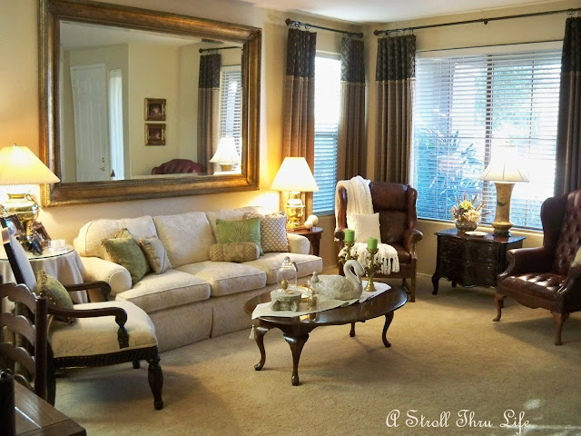 A Stroll Thru Life Living Room Act Two Apple Green