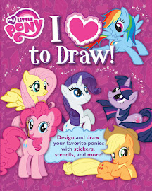 MLP I Love to Draw Book Media