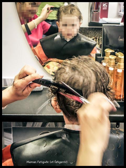 première coupe cheveux