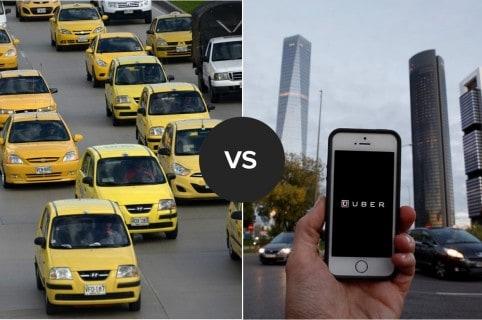 Taxistas felices salida de Uber del país y anuncian buscar salida de otras plataformas