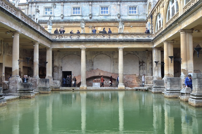 Roman baths de Bath