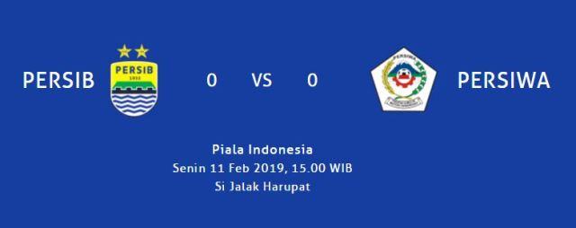 SJH Siap Gelar Persib Bandung vs Persiwa 11 Februari 2019
