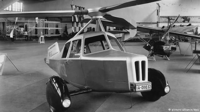 8 Mobil Terbang yang Pernah Dibuat