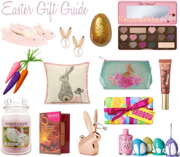 Haysparkle easter gift guide non chocolate edition lush golden egg bath bomb 395 models own speckled egg nail polish collection 499 each rose gold pearl bunny earrings too faced chocolate bon bons negle Images