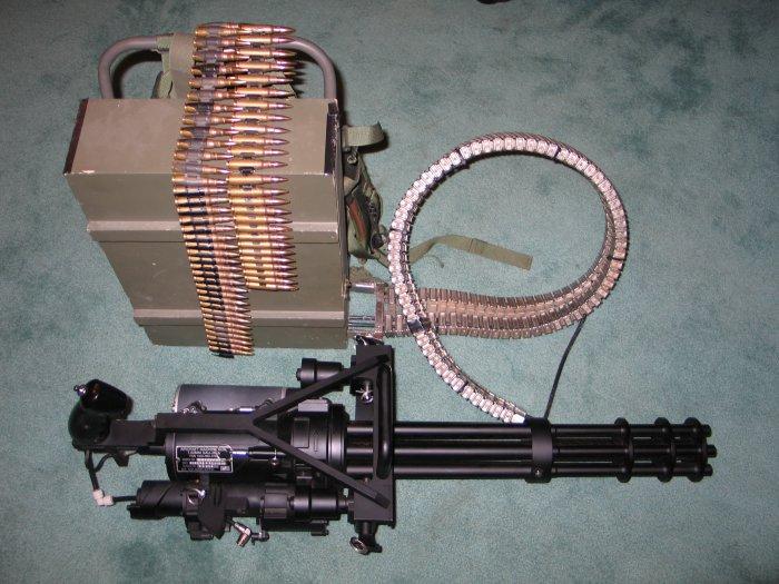 Vulcan MinigunVulcan Minigun
