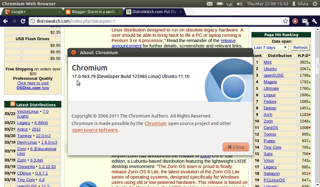 virus navigateur linux
