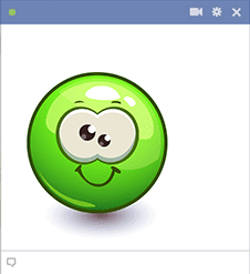 Goofy Green Smiley