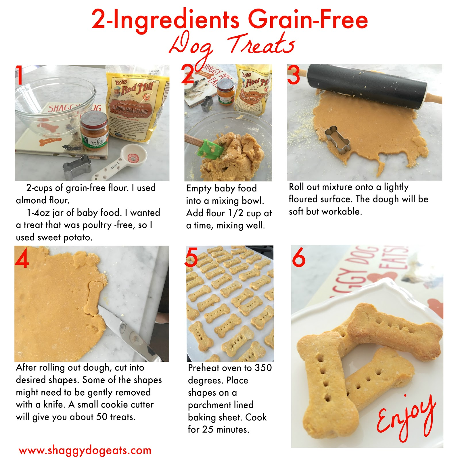 Homemade Dog Treats With Baby Food And Wheat Germ
