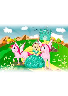 caricatura princesinha