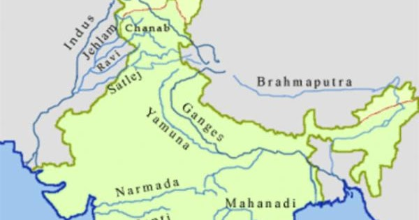 Rivers in India - Length and Touching States | BankExamsToday on mekong river map, bay of bengal map, great lakes map, krishna river map, persian gulf map, brahmaputra river map, euphrates river map, deccan plateau map, niger river map, great indian desert map, amazon river map, tigris river map, yangtze river map, irrawaddy river map, india map, godavari river map, rhine river map, arabian sea map, china map,