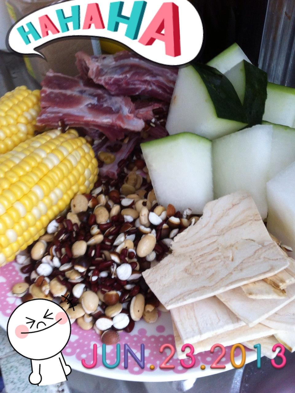 K Pig Kitchen: 清熱袪濕冬瓜湯*
