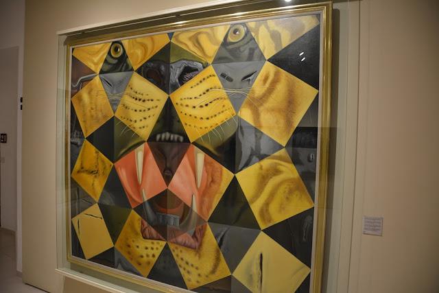 Teatre Museum Dali Art Figueres tiger