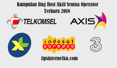 Kumpulan Bug Host Aktif Semua Operator Terbaru 2018