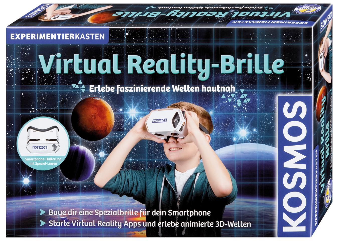 Optische Experimente: Virtual Reality (VR) Brille für das ...