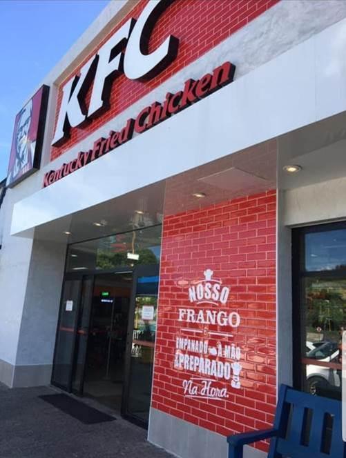 KFC traz novo formato de loja para o Brasil
