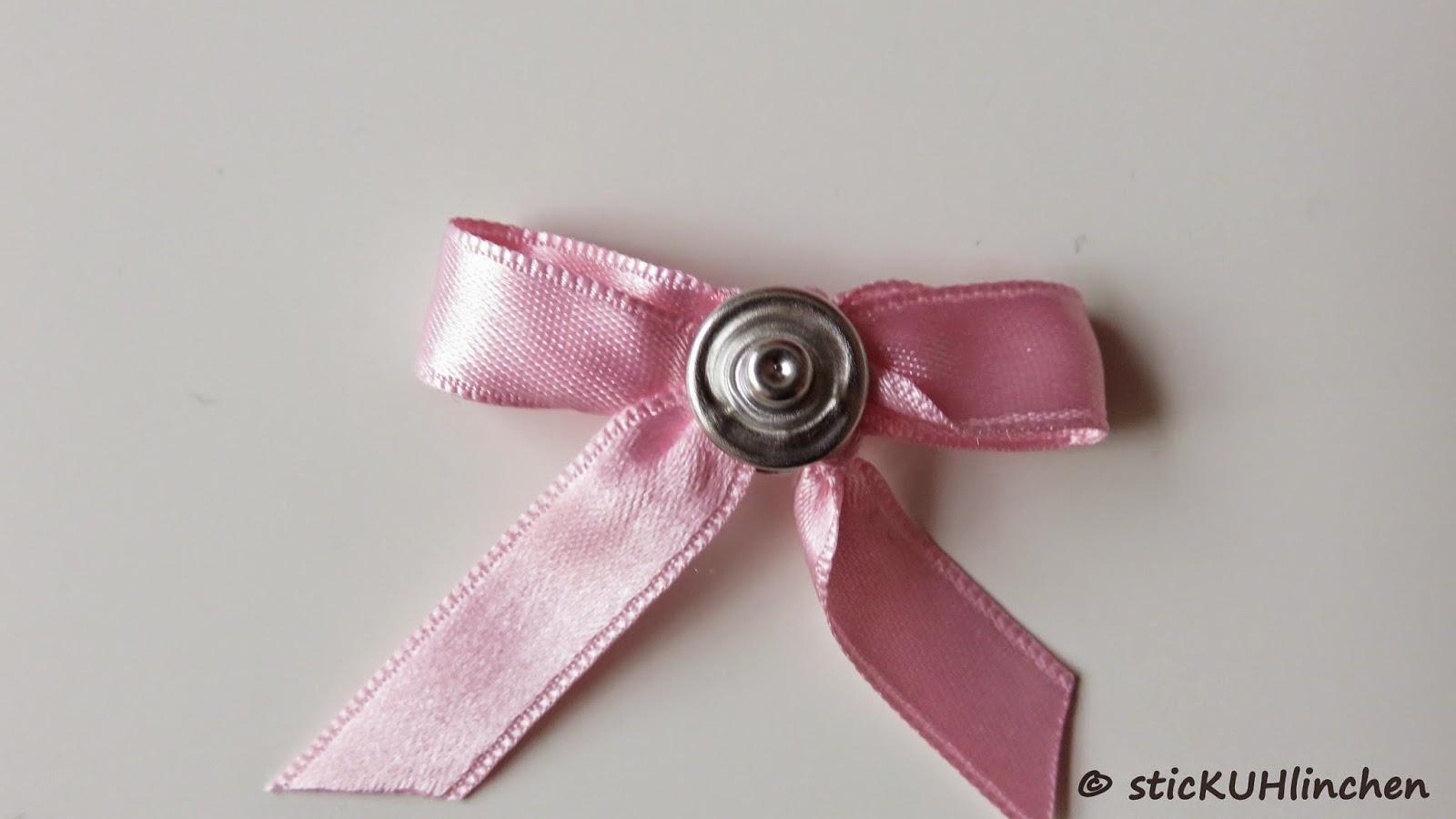 32001d5430b41a sticKUHlinchen: DIY Schleife mit der Gabel binden und mit Jersey ...