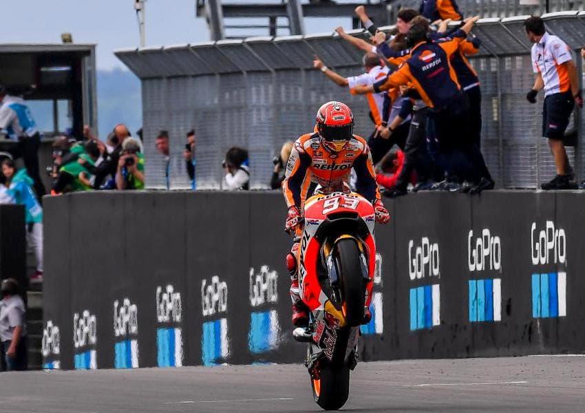 MotoGP Sachsenring 2017 : Marquez juara, Folger kedua Pedrosa ketiga . . Rossi dan Vinales bangkit