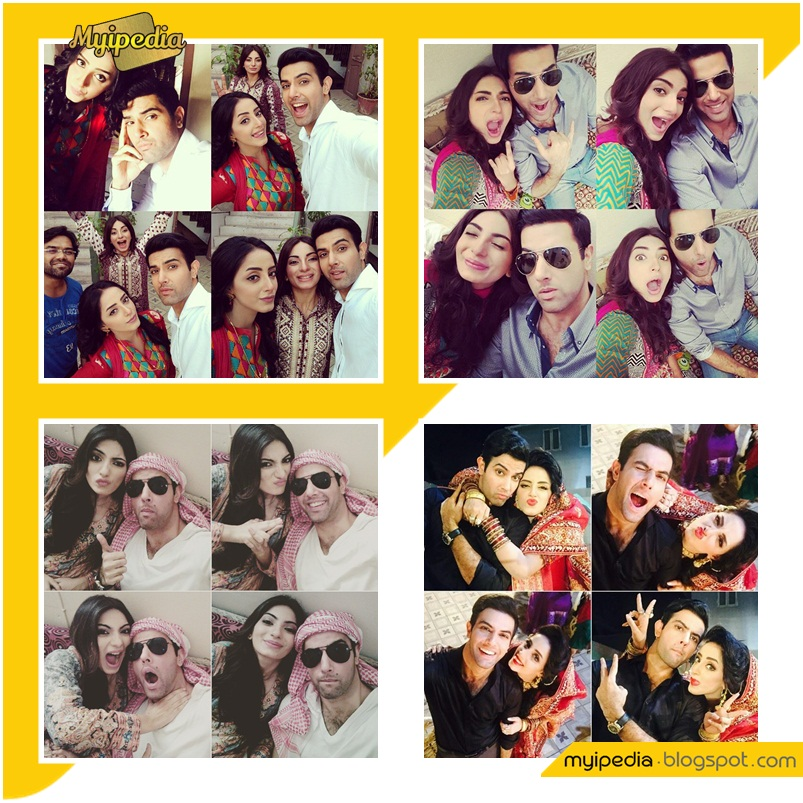 Tere Mere Beech Upcoming Drama on Hum Tv Cast Selfies & On