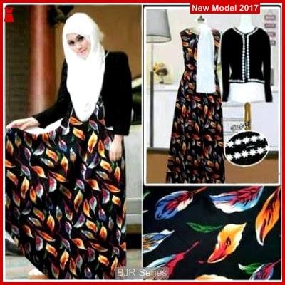 BJR038 Baju Vanesa Set Hitam Murah Grosir BMGSHop