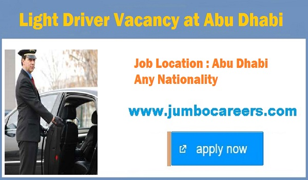 Current jobs in Abu Dhabi, List down all new jobs with details,