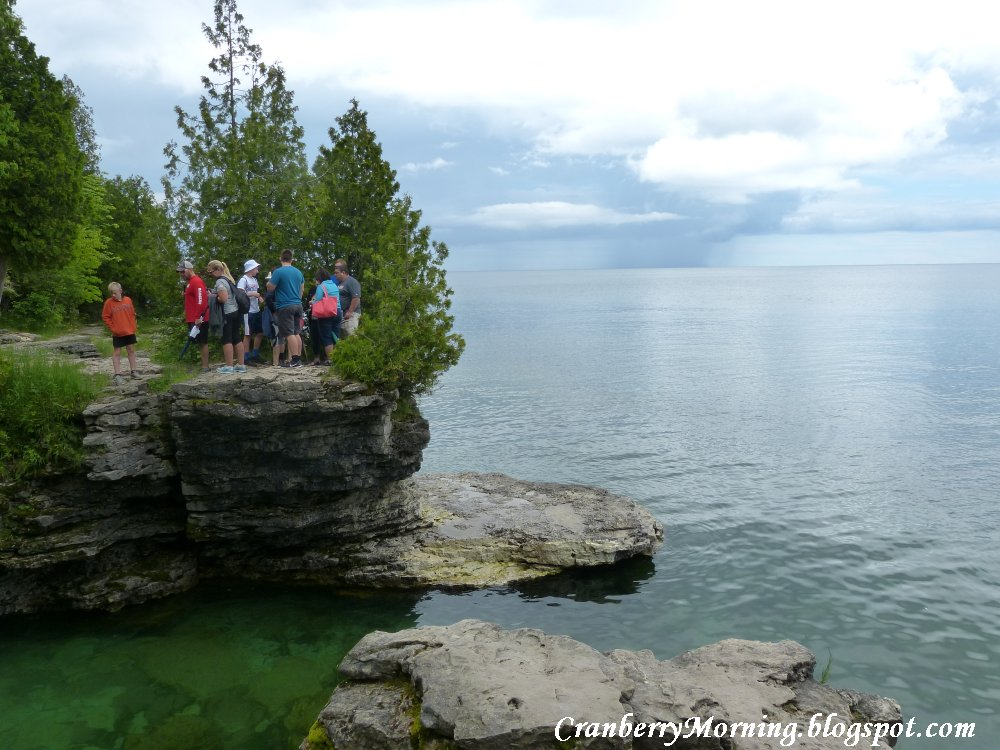 Cranberry Morning Cave Point Door County Wisconsin