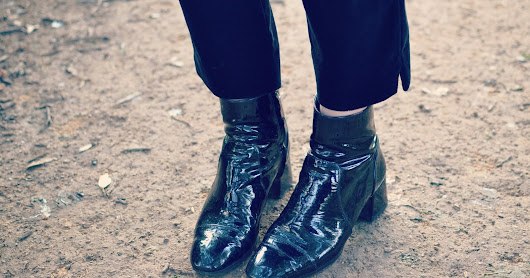 Shiny Boots of Leather
