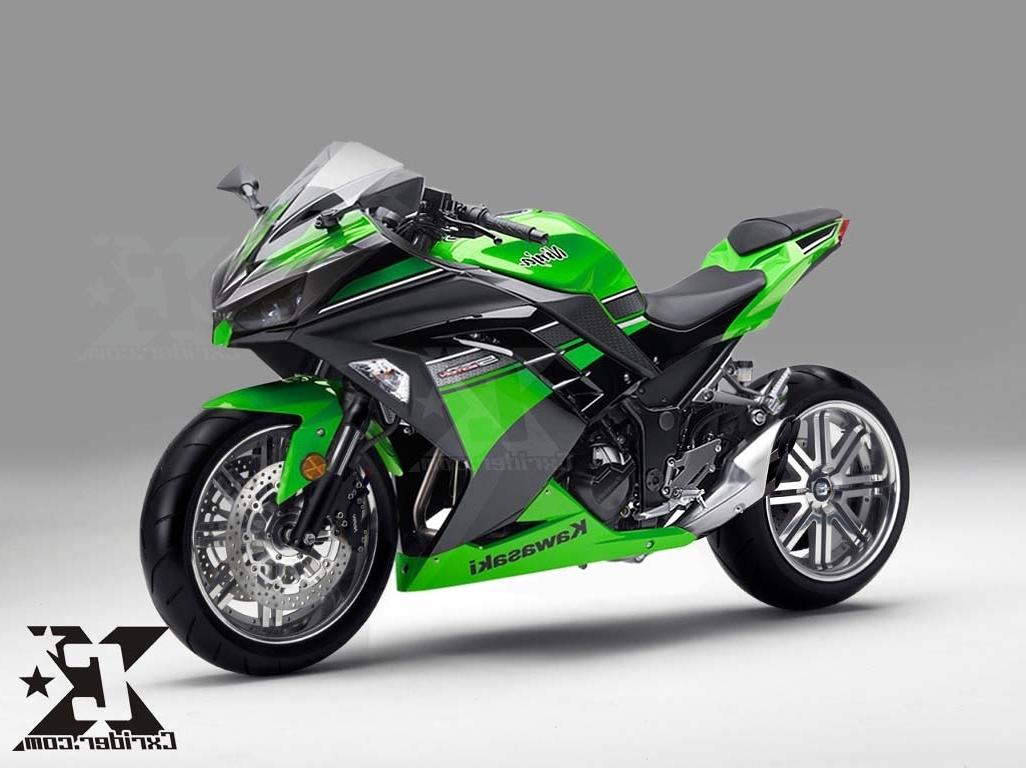 Kumpulan Modifikasi Motor Kawasaki Ninja 250 Abs Terbaru