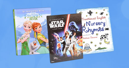 add some disney magic to your day with simply personalized books