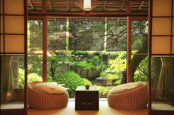 Rumah Kayu Gaya Jepang
