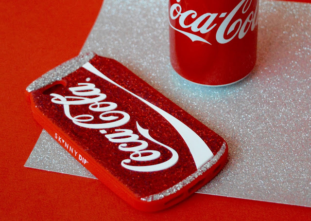 SkinnyDip x Coca Cola phone case