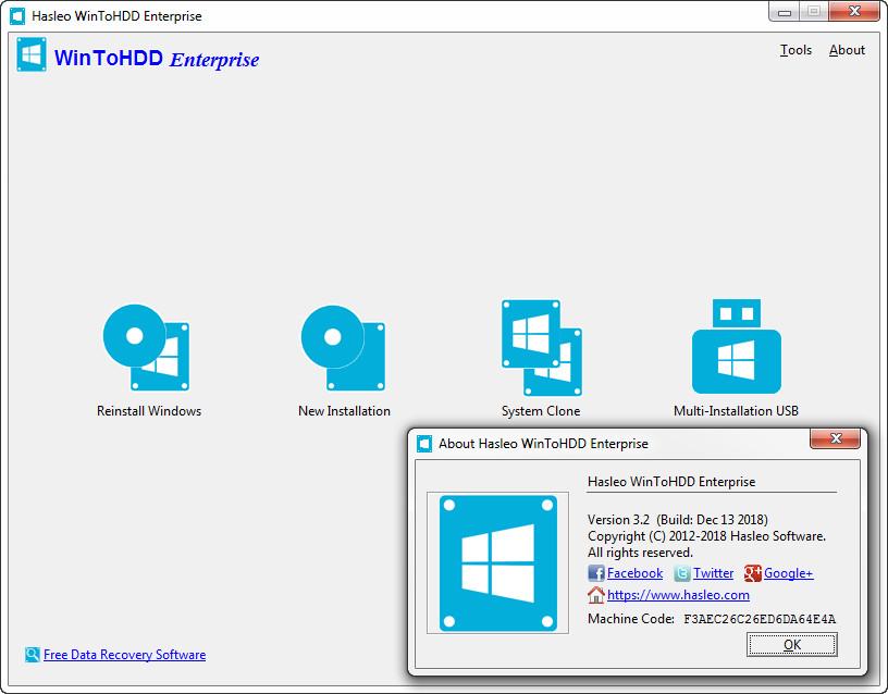 WinToHDD Enterprise v3.2 Full version